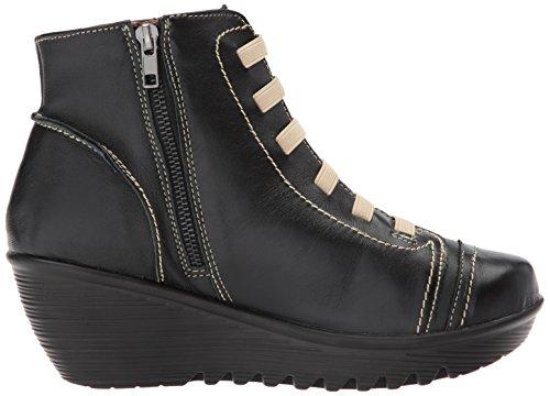 Bernie Mev Donna Alta Moda Sneaker Nera