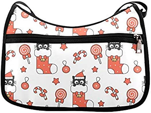 Cute Cat And Dog Cute Pet Messenger Bag Crossbody Bag Large Durable Shoulder School Or Business Bag Oxford Fabric For Mens Womens