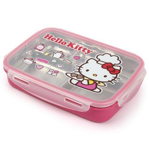 Lock & Lock Hello Kitty Baby children Cook Stainless stee...