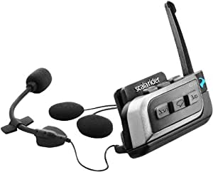 Cardo Systems Inc G9x (Single) Scala Rider Communication Head Set Accessories - Black