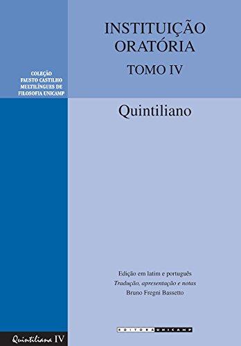 Instituição Oratória: Tomo IV