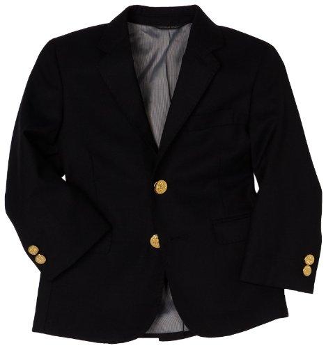 Ike Behar Little Boys' Blazer,Navy,7