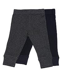 Baby Legging 2 Pack Navy & Dk Grey 18 Months