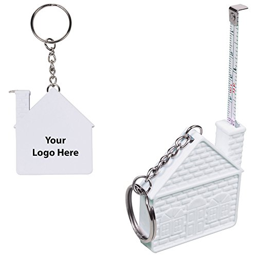 (3 Ft. House Tape Measure - 150 Quantity - 1.75 Each - PROMOTIONAL PRODUCT/BULK/BRANDED with YOUR LOGO/CUSTOMIZED)