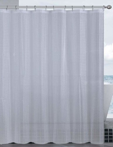 Dainty Home Mirage 3D Eva Shower Curtain Clear