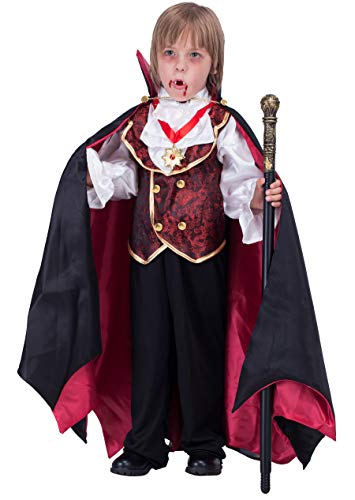 Spooktacular Creations Vampire Boy Costume (Small) -