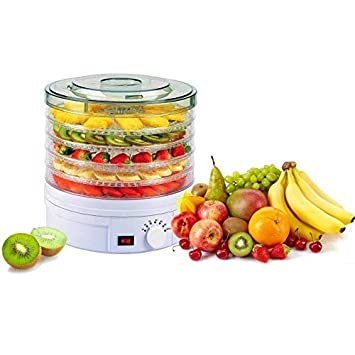 Deshidratador/Secador / Secador De Alimentos Profesional De 5 Niveles Control De Temperatura Ajustable Para