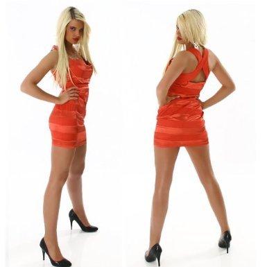Young-Fashion - Vestido - para mujer naranja