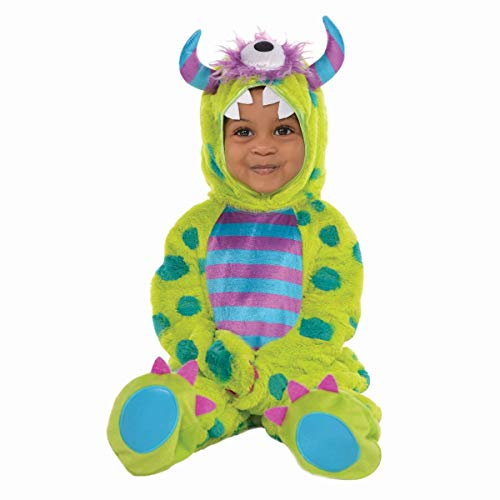 Amscan 845938 Baby Monster Mash Costume Deluxe, Green, 12-24 Months]()