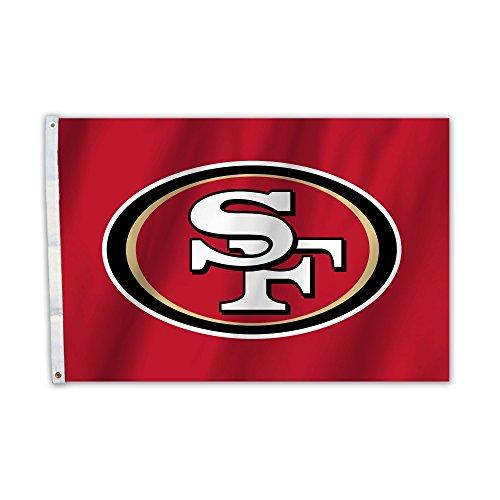 Fremont Die NFL San Francisco 49ers 2 x 3-Foot Flag ()