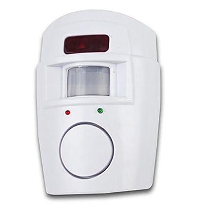 LNIMIKIY - Alarma inalámbrica con sensor de movimiento, detector de movimiento antirrobo, sistema de alarma inalámbrico, fácil de instalar, cobertizo para ...
