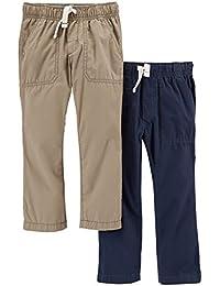 Boys' Big 2-Pack Woven Pant,