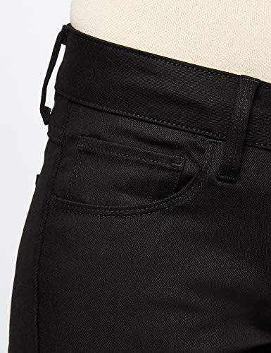 Donna Jeans Mid star 3301 Deconst Nero Straight G Raw Dritto ZxaqwCC1