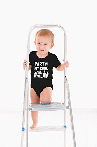AW Fashions Crib, 2 Cute Novelty One-Piece Baby