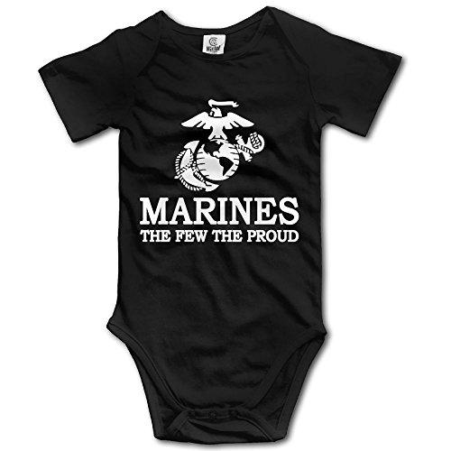 AquarScorp USMC The Few The Proud Marines Logo Baby Girls Clothes Summer Pajamas for Newborn for $<!--$7.00-->