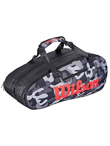 - Wilson Super Tour 3 Compartment CAMO Tennis Bag
