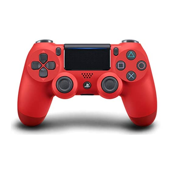 - 41kaOFDXzSL - DualShock 4 Wireless Controller for PlayStation 4 – Magma Red