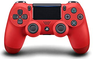 DualShock 4 Wireless Controller for PlayStation 4 - Magma Red (B01MD19OI2) | Amazon Products
