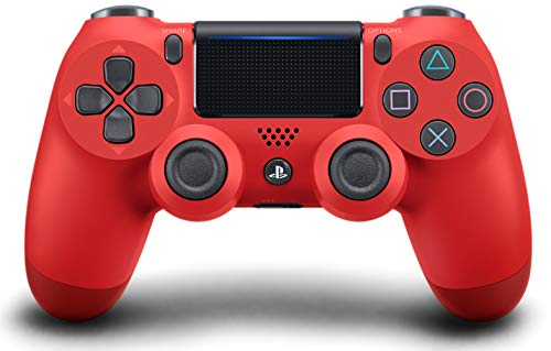 DualShock 4 Wireless Controller for PlayStation 4 - Magma Red (Best Ps3 Games By Year)