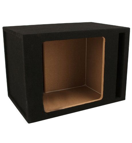 Absolute SKS10V Single 10-Inch Solo-Baric Square Slot-Ported Sub ()