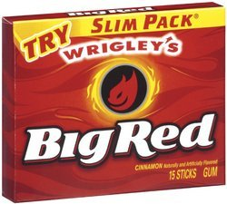 (Big Red Gum Slim Pk 15 Pc - Case Pack 10 SKU-PAS1123151)