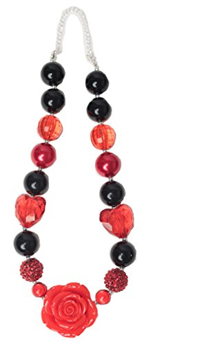 Bubblegum Necklaces (Red & Black)