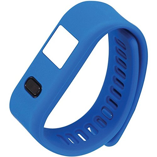 NAXA Lifeforce+ Fitness Watch for iPhone and Android Fitness Tracker for N/A, Blue