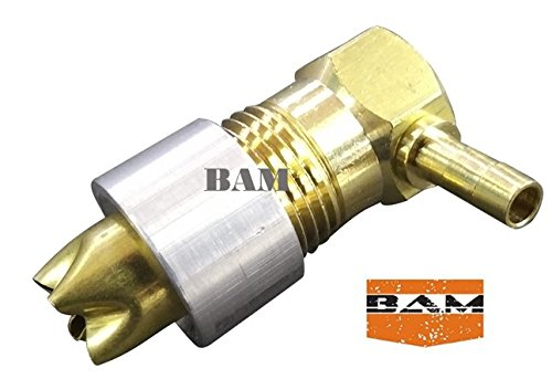 - Fuel GasTank 1/2 NPT Rollover Brass Vent Valve & Aluminum CNC Weld-on bung
