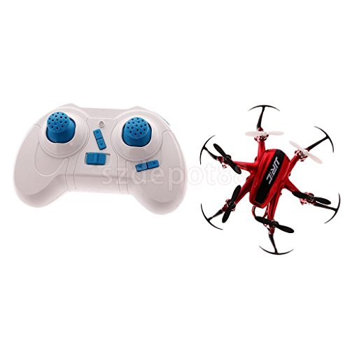 JJRC H20 Mini Drone 6 Axis RC Quadcopters With Headless Mode Helicopter Red by uptogethertek