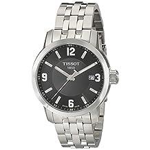 Tissot Men's TIST0554101105700 PRC 200 Analog Display Swiss Quartz Silver Watch