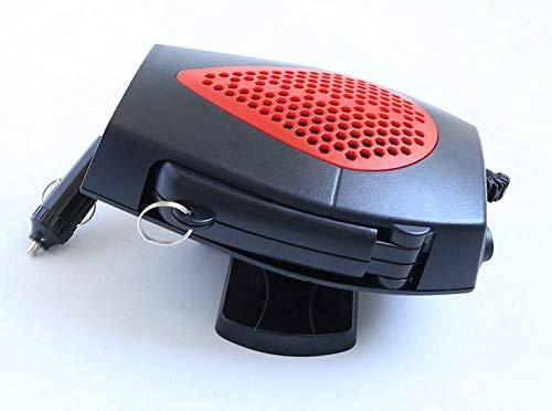 2 En 1 150W Ventilateur Voiture Chaud Froid Ventilateur Auto D/éGivrage Et D/éSembuage Rapide De Pare-Brise Acidea Chauffage Voiture Ventilateur 12V R/éChauffeur De Voiture Portable Faible charming