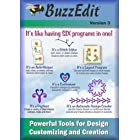BuzzEdit v3 – Embroidery Design Editor