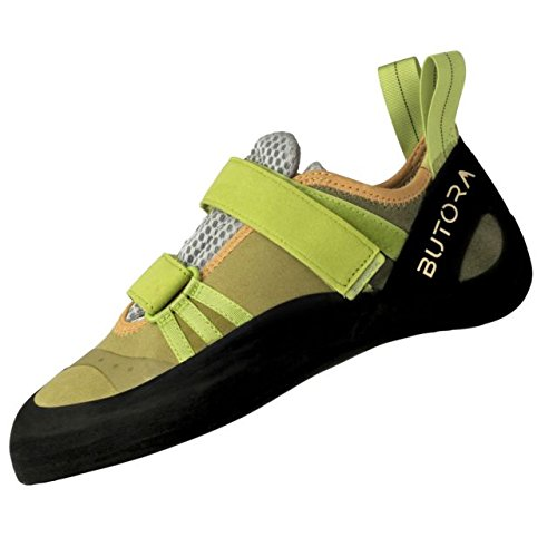 - Butora Endeavor Moss Green Wide Fit Rock Climbing Shoes Size 13.5