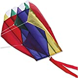 "Parafoil 2 Rainbow Kite (13"" x 21"") with 500' of 50lb Test Line"