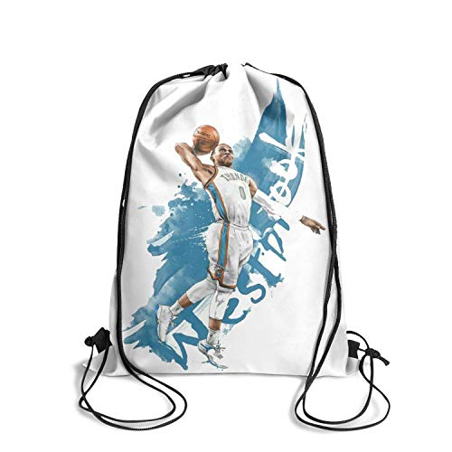 Basketball String Drawstring Backpack Gym Popular Classic Gym ()