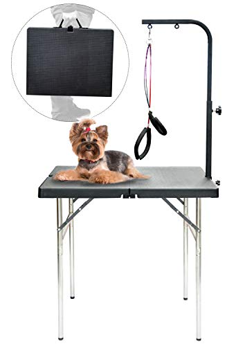 SHELANDY Pet Dog Portable Grooming Table