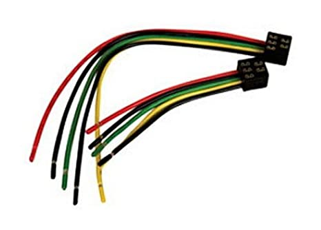 Amazon.com: RV Trailer Camper Electrical 5-Pin Wiring Harness Square on 6 pin cable, 6 pin transformer, 6 pin power supply, 6 pin ignition switch, 6 pin throttle body, 6 pin switch harness, 6 pin wiring connector, 6 pin voltage regulator, 6 pin connectors harness,