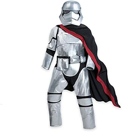 Costume Age 7-8 Disney Store Star Wars Captain Phasma Storm Trooper Outfit