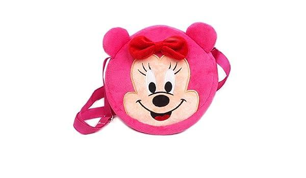 Amazon.com: Jewh Cute Plush Shoulder Bag Strawberry Sunflower Minnie Hellokitty Yellow Duck pokonyan Toys Kids Handbags Cartoon Mini Satchel 18cm (1): Toys ...
