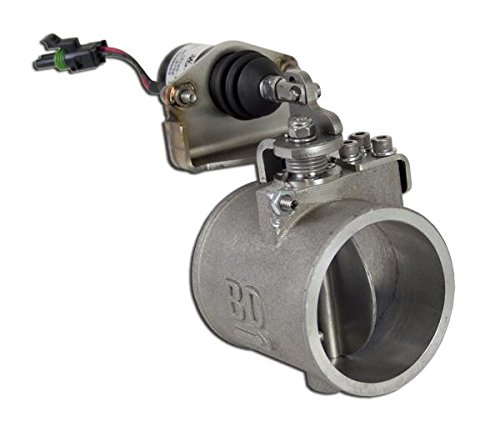 Positive Air Shutdown w/o Over Speed Electronics Manual Controlled Incl. Air Shutoff Valve/Wiring Harness/PAS Pipe/Boots/Clamps Positive Air Shutdown ()