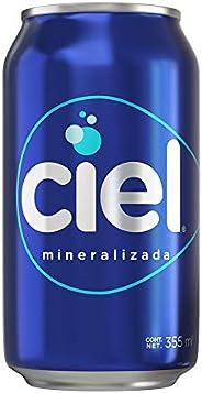 Agua Mineral, Agua Ciel, 12 Pack - 355 ml/lata