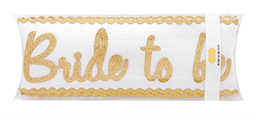 Mud Pie Bride Sash White product image