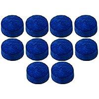 Club 21 147 Snooker Cue Tips 9mm (PLMKJNI, Blue)