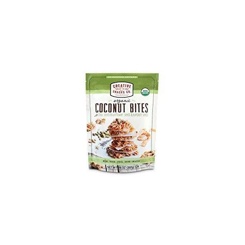 Creative Snacks Organic Coconut Bites with Chia, Sunflower and Pumpkin Seeds 14 oz