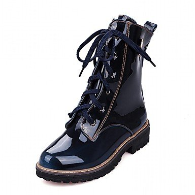 Office CN36 amp;Amp; US6 Leatherette Casual Winter amp;Amp; Women'S Career Fall RTRY Platform Boots Patent Spring EU36 Party Dress UK4 Wedding Evening Comfort Leather Novelty A74gqvvwRa