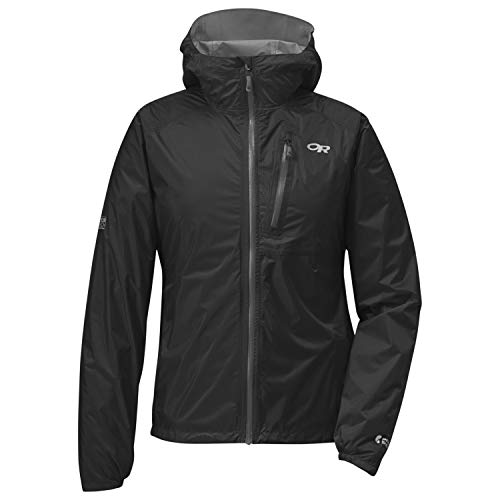 Outdoor Research Women's Helium II Jacket, Black/Charcoal, Medium