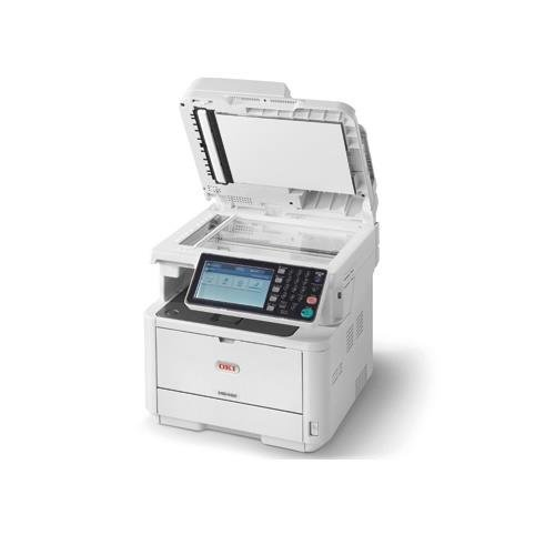 Oki Data MB492 Monochrome MFP Printer with Scanner, Copier and (Okidata Laser Scanner)