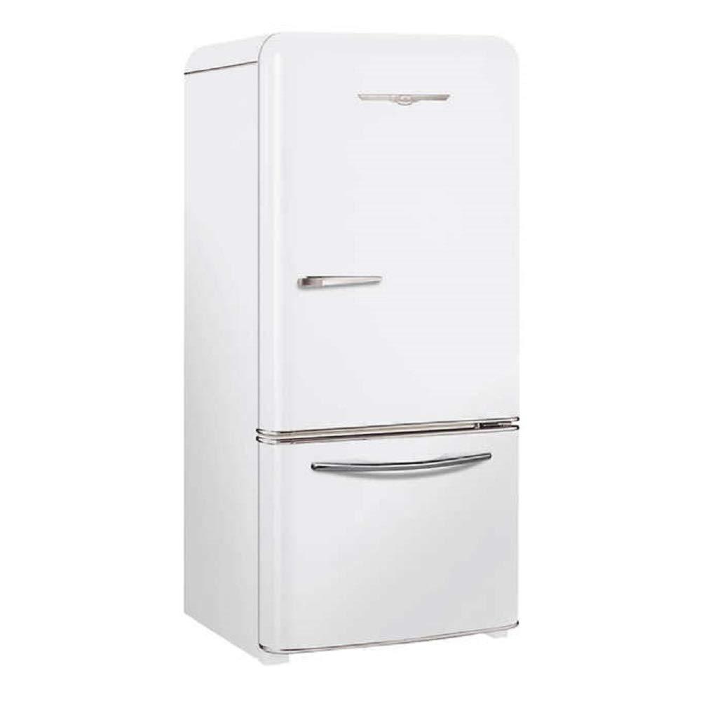 Northstar Retro-inspired 30 in  18 5 cu  ft  Bottom Freezer