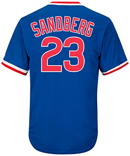 Ryne Sandberg Chicago Cubs Cool Base Cooperstown Jersey - Baseball Chicago Cubs Jersey