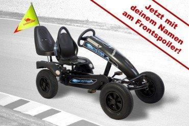 Dino Cars Gokart linostar Shadow BF-3 inkl. Zusatzsitz und Fahne - mit deinem Namen